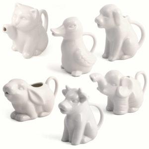 Animal milk jugs
