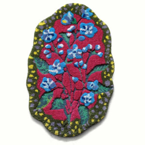Forget Me Not Rug by Nathalie Lete