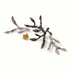 Magnolia Branch and Succulent Pins