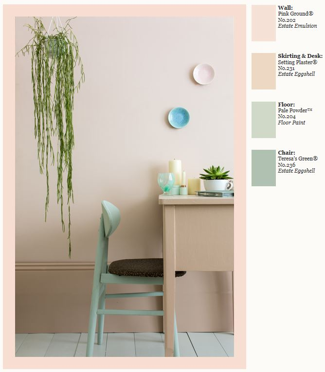 Farrow & Ball Pink Ground and Setting Plaster