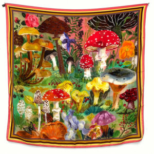 Nathalie Lete Mushrooms Scarf